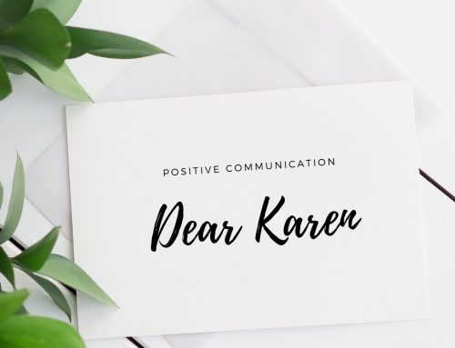 Communicating in a Positive Way